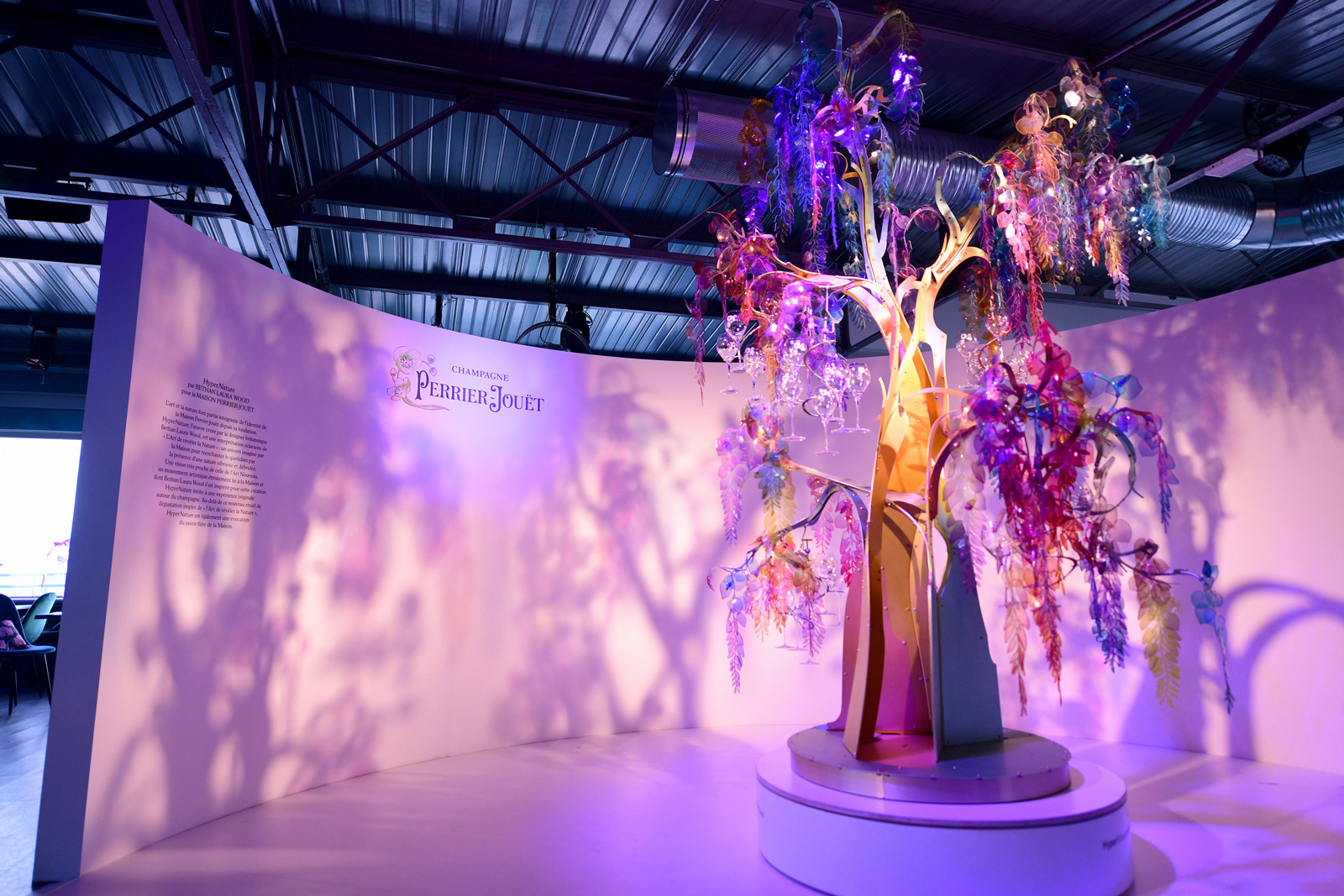 HyperNature tree from Bethan Laura Wood by Perrier-Jouët